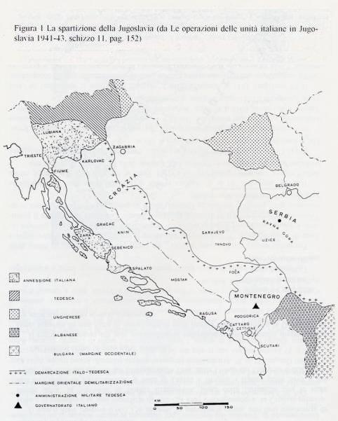 Dalmazia Italiana Cartina.Ebrei Stranieri Internati In Italia Durante Il Periodo Bellico